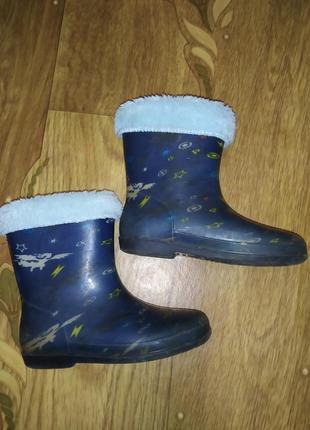 Резиновые сапоги чобітки