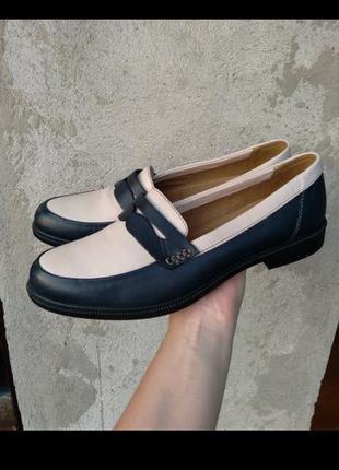 Кожаные туфли фирмы hotter (оригинал) р.41-42 (7 1/2)