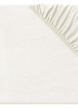 Простынь белая,бежевая на резинке meradiso много цветов