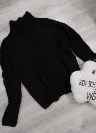 Бомбический свитер с горлом оверсайз с шерстью h&m