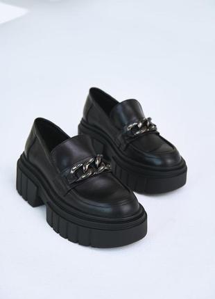 Шкіряні туфлі-оксфорди / кожаные туфли-оксфорды
