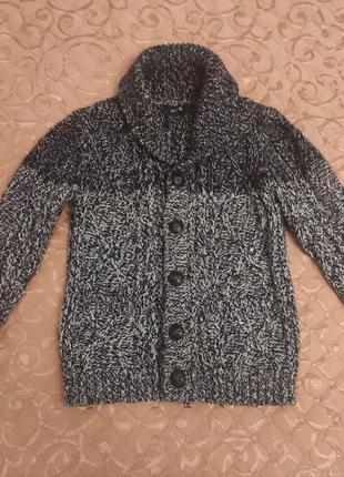 Вязаная кофта, свитер на мальчика