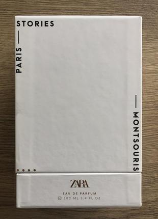 Парфюмированная zara montsouris edp 100 ml парфюм унисекс духи