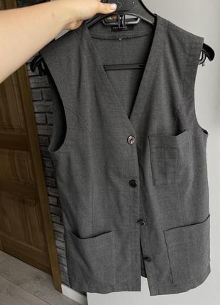 Zara жилетка винтажная жилет