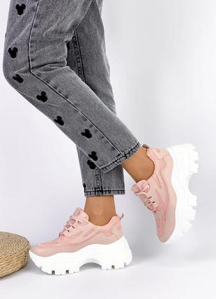 Кроссовки на платформе нереально легкие и удобные 37,38 маломер