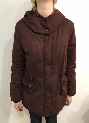 Куртка парка осень-зима pull&bear