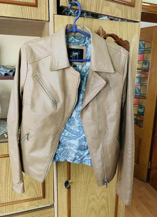 Кожаная куртка из натуральной кожи
