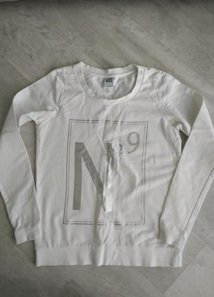 Белое худи , белая кофта , белый реглан