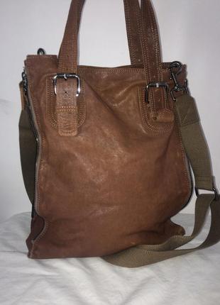 Liebeskind berlin классная повседневная сумка натуральная кожа