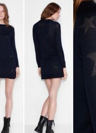 Zadig&voltaire платье плаття с  мериносовои шерсти,