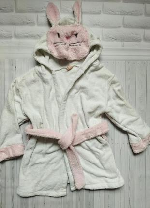 Хлопок махровый халпт полотенце для девочки