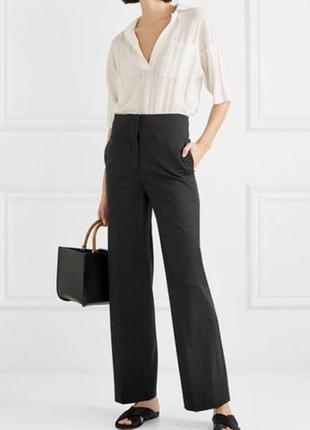 Женские классические брюки клёш от середины бедра