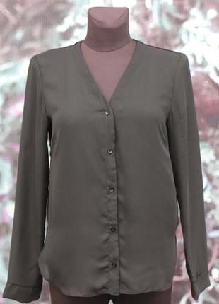 Черная шифоновая блуза asos2 фото
