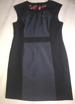Платье футляр стильное строгое повседневное 48-50