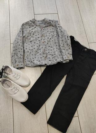 Костюм,рубашка ,штани