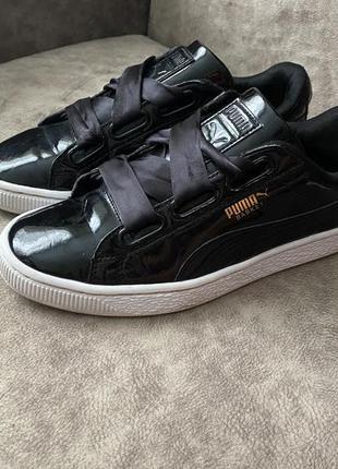 Фирменные кроссовки puma basket