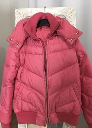 Пуховик-куртка теплая