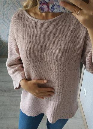 Нежный теплый приятный свитер