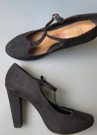 Красивые замшевые туфли от  dune за смешные деньги