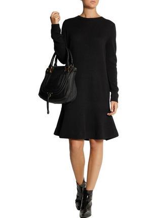 Тёплое шерстяное платье miu miu