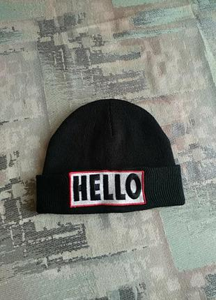 "Брендовая шапка.made in switzerland. "" tally  weijl """