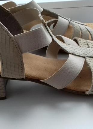 Босоножки, сандалии 38-39 rieker рейкер рикер германия кожа!