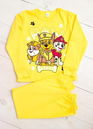 Пижама для мальчика  щенячий патруль, paw