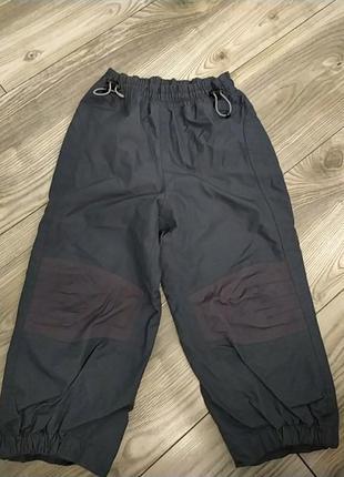 Непромокаемые непродуваемые штаны на осень,без утеплителя