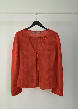 Трендовый комплект майка и кардиган marc cain knitted cos set jacquemus