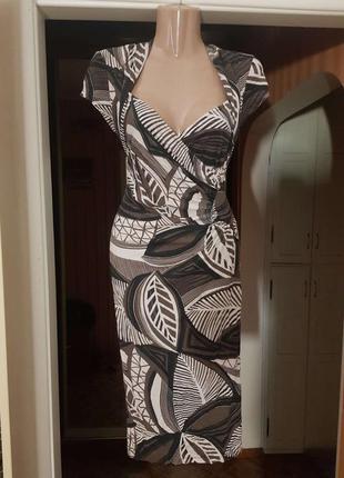Распродажа натуральное классическое платье marks & spencer миди в стиле empire asos