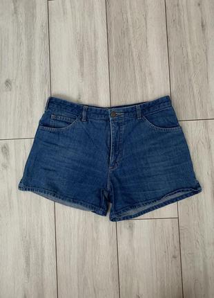 Джинсовые/короткие/летние/синие/шорты/коттоновые