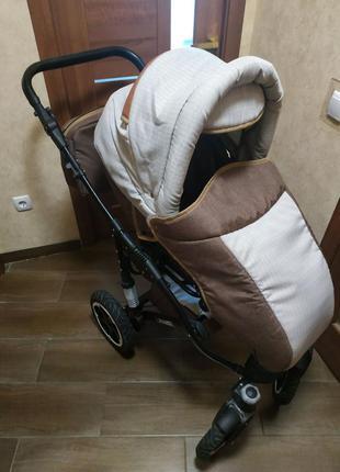Дитяча коляска 2в1 donatan lavanda