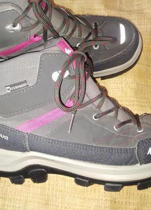Евро 38р -24.5 ботинки quechua waterproof