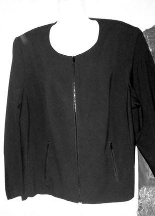 Жакет пиджак черный