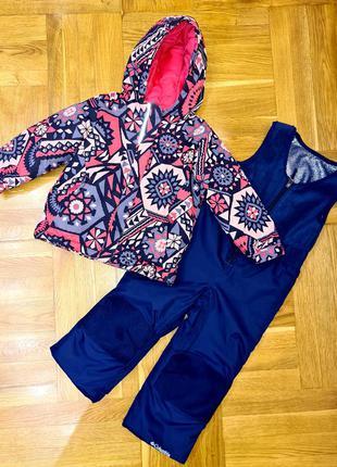 Зимний термо костюм columbia, комбинезон