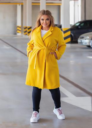 Женское пальто-кардиган