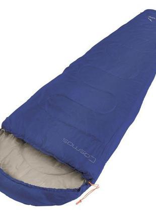 Спальный мешок спальний мішок easy camp cosmos 190 left zip синий 240149