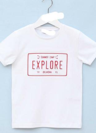 Фірмова турецька біла футболка