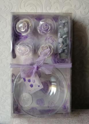 Декоративный набор свечей ароматизированный