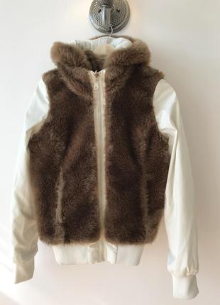 Тёплая двусторонняя куртка miss60