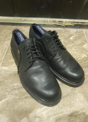 Кожаные туфли, ботинки fretz man gtx, 43 размер