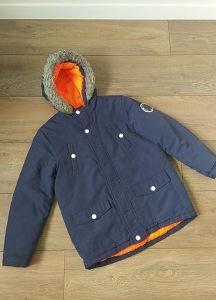 Демисезонная куртка, парка mckenzie в отличном состоянии р. 128 см