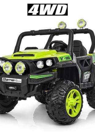 Детский электромобиль bambi racer джип m 3825 eblr-5 четырехмоторный нагрузка 30 кг (1100183)