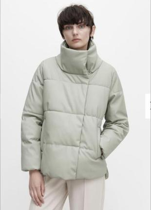 Куртка з шкірзамінника reserved