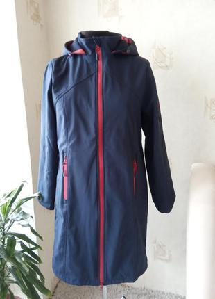 Теплая куртка, анорак, термо, микрофлис, от ветра, coastline, ветровка, стройнит, brandtex, деми