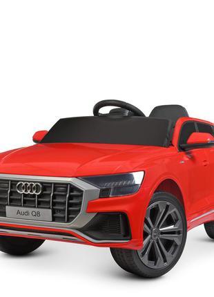 Детский электромобиль bambi racer джип m 4528eblr-3 audi q8 красный, 2 мощных мотора, (1100190)