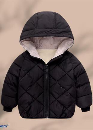 Курточка на пуху для холодної осені як у next