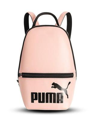 Жіночий рожевий рюкзак puma / женский розовый портфель пума