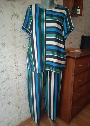 Костюм (кюлоты/блузка)