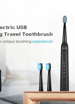 Электрическая зубная щетка seago sg-949 (лучше чем орал-би)